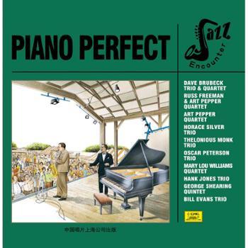 邂逅爵士之钢琴情韵PIANOPERFECT欧美流行爵士乐CD