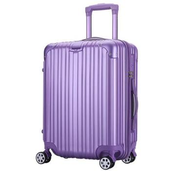 巴顿 条纹 拉杆箱20登机箱子万向轮行李箱男女潮密码旅行箱包