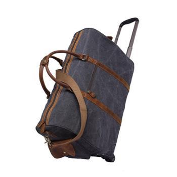 新品拉杆旅行包行李袋大容量行李包旅游单肩包手提斜挎男包