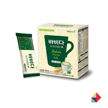 MDWell速溶三合一绿茶抹茶咖啡G420g韩国商城食品酒饮冲调饮品速溶咖啡