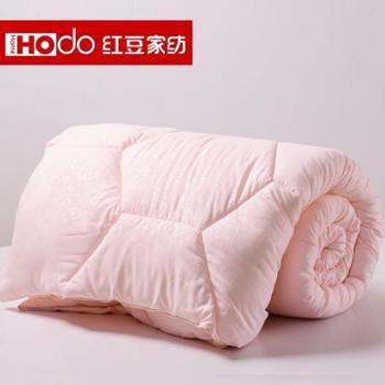 红豆家纺 被子加厚保暖冬被春秋被单人双人空调被学生被芯太空被棉被