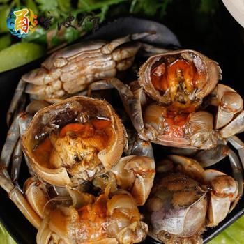 【宁波馆】醉螃蜞900g个个入味醉蟹醉白玉蟹元宝蟹美味蟹