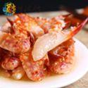 【宁波馆】莫龙醉红蟹钳690g醉蟹钳大蟹脚罐装即食宁波海鲜特产螃蟹类制品
