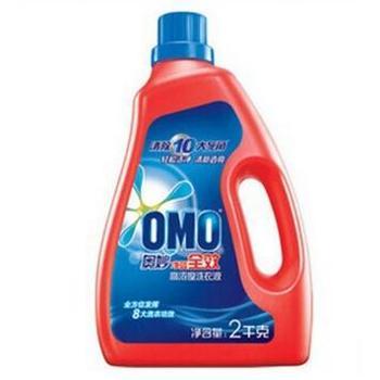 奥妙洗衣液 净蓝全效深层洁净洗衣液2KG