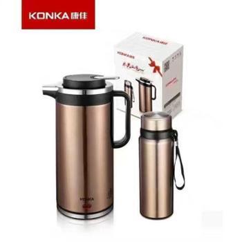 康佳水光山色组合 电热水壶(1.8L)+保温杯(0.75L) KGBL-213
