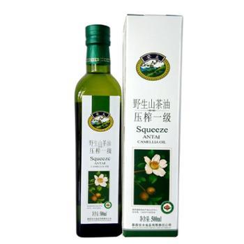 安太茶油有机山茶油500ml瓶装
