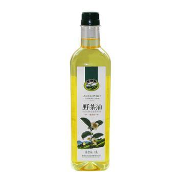 安太山茶油 大别山特产 月子油 食用油 油茶籽油1L瓶装