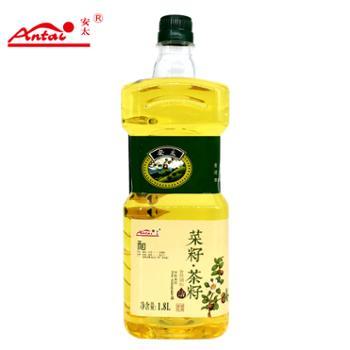 安太菜籽.茶籽食用植物调和油1.8L瓶装