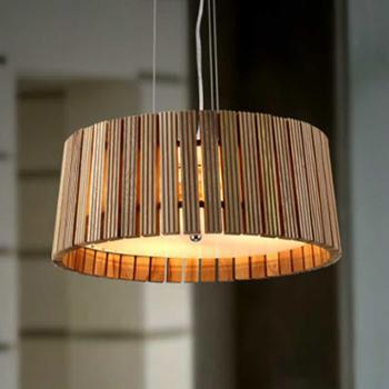 北欧宜家实木艺吊灯餐厅创意个性客厅酒店卧室饭厅吊灯咖啡馆灯具