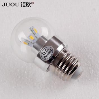 钜欧灯饰LED灯泡节能光源E27大功率3w超亮灯泡进口芯片球泡灯具