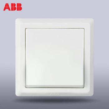ABB开关面板德逸一位双控墙壁电灯开关AE105