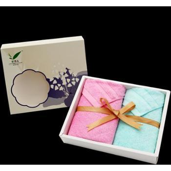 美容巾紫荆花抽屉软盒