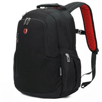 瑞士军刀双肩电脑包15.6寸商务时尚休闲双肩背包