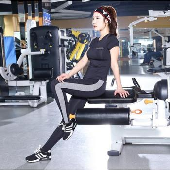 Paiyige 新品瑜伽服 女高弹运动健身跑步衣服训练服套装女