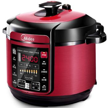 Midea/美的 电压力锅双胆 6L智能家用高压饭煲3-4-5人 WQC60A5