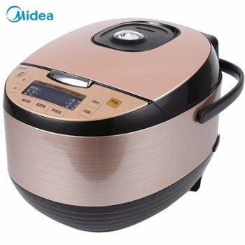 Midea/美的 智能5L预约电饭煲电饭锅3-8人MB-RS4091/RS5091