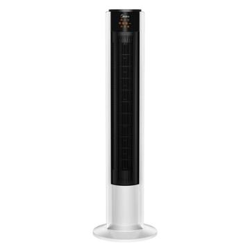 美的电风扇无叶落地扇塔扇家用静音立式遥控宿舍摇头电扇ZAC10BR