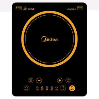 Midea/美的 家用大火力触屏多功能一体智能电磁炉 HT2218HM