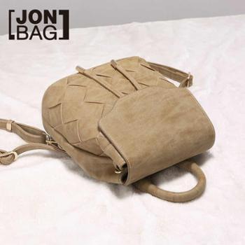 简佰格包包新款潮韩版百搭编织简约韩国双肩包个性女包小背包