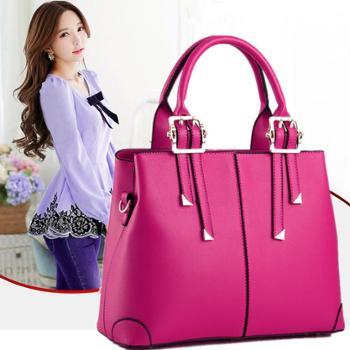 火红玫瑰 新款女包欧美手提包单肩斜跨包女士包包 A RRT150775