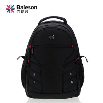 Baleson百路兴运动双肩包情侣旅行包15.6寸学生笔记本电脑书包