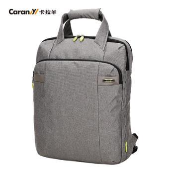 卡拉羊2015男士商务手提背包14吋电脑包公务包公文包公事包CS1313