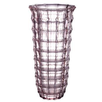 克芮思托玛莎炫彩花瓶29.5cm 创意艺术水培植物瓶 彩色晶质插花花瓶 颜色随机