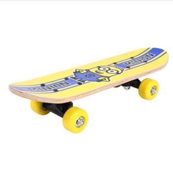 神偷奶爸小黄人(Minions)2-6岁儿童滑板XCD71147迷你双翘板初学者入门四轮小滑板