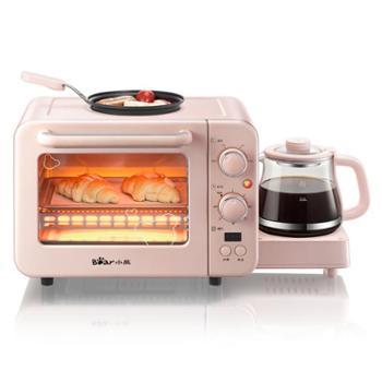 Bear/小熊早餐机DSL-C02B1家用全自动多功能电烤箱烤面包机神器
