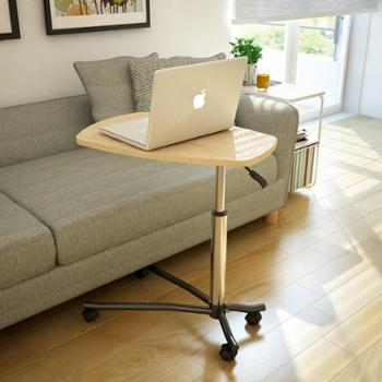 潮土可移动懒人笔记本电脑桌床上用写字书桌简易升降沙发床边桌子