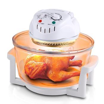康佳KONKA美味金刚多用光波炉 耐高温钢化玻璃电蒸炉 KGGB-12LB烧烤炉