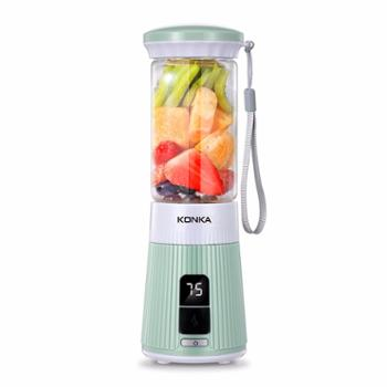 康佳 便携式果汁杯榨汁机 百果乐DZ023 底座可USB插口可做充电宝