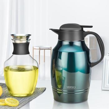 米索1.8L保温壶1.6L玻璃冷水瓶礼盒套装家居高颜值水具