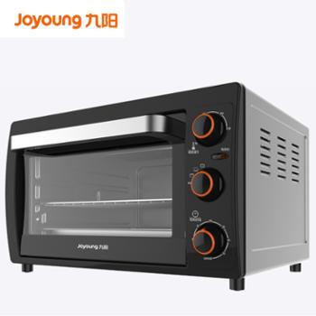 九阳烤箱家用烘焙多功能26升蛋糕面包电烤箱KX-26J610 黑色