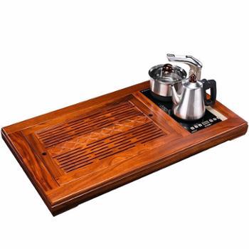 越一 清雅实木茶盘电热茶壶乘风套组 K33
