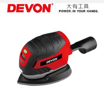 原装DEVON大有电动工具6601-Li-12 12V锂电池充电式掌式砂光机