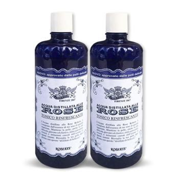意大利进口Manetti Roberts 古老玫瑰水 300ml 2瓶一组包邮 提亮肤色补水美白保湿