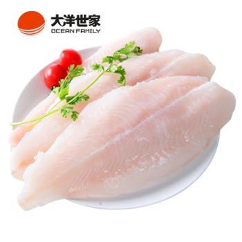 大洋世家越南巴沙鱼柳600g(去皮去骨)2片装冰冻海鲜食品