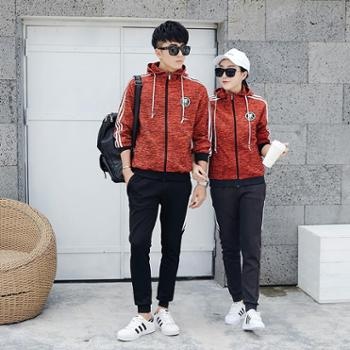 杜戛地新款情侣运动套装女款运动服男运动套装男款卫衣女士运动装卫衣