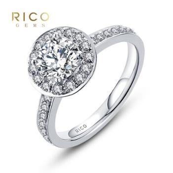 睿珂珠宝INFINITIES 88 宠爱 钻石戒指钻戒需定制 拍前详询客服 1克拉K色SI1 18K金定制