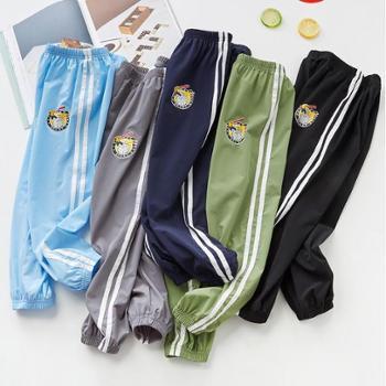 南极人女童男童装速干运动裤单条善融七周年