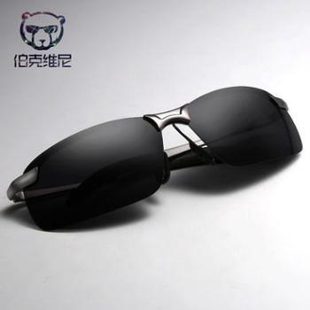 太阳镜男司机镜偏光太阳眼镜飞行员墨镜男潮人个性方形驾驶镜开车