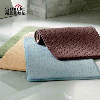 加厚地垫进门口门垫卫生间吸水浴室防滑垫卧室厨房脚垫子毯 定制