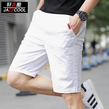 夏季运动5五分裤男士短裤学生休闲7七分中裤夏天沙滩裤大裤衩薄潮
