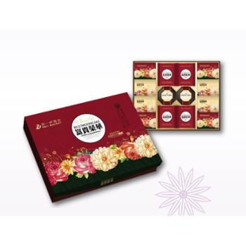 景德镇市天天第一炉食品有限公司 月饼 富贵荣华 1.12KG/盒