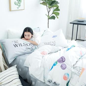 凯润 ZERLAINDA全棉四件套纯棉床上用品 纯棉活性印花儿童床品套件