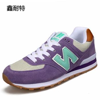 鑫耐特2017年四季新品N字女鞋韩版潮流运动鞋百搭休闲鞋8820