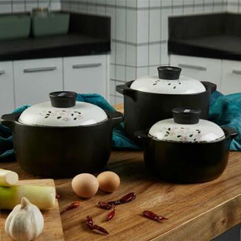 印象樱花系列手绘釉下彩耐热锂辉石养生煲1.6L3L4L礼盒装厨房用具