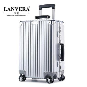 LANVERA商务铝框拉杆箱万向轮行李箱时尚旅行箱20242629寸生活用品