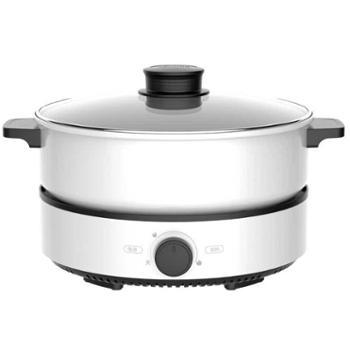 美的电火锅家用电煮锅电热锅煮饭炒菜多用锅厨房用具